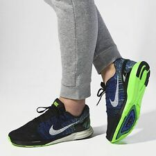 NIKE LUNARGLIDE 7 Running Trainers Shoes Gym - UK 7 (EUR 41) Black / Racer Blue