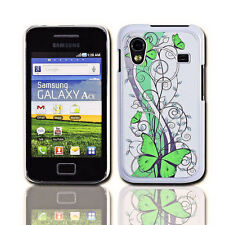 Design No.4 Handy Back Cover Case Samsung S5830 Galaxy Ace + Displayschutzfolie