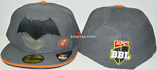 New - Perth Scorchers 59FIFTY Batman Cap BBL Big Bash Hat Cricket - Size: 7 3/8