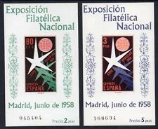 SPAIN MNH 1958 SGMS1285/86 1958 World Expo - Brussels