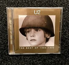 CD - U2 THE BEST OF 1980 - 1990 -IN GREAT CONDITION
