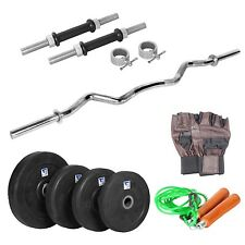 LiveStrong 20 kg home gym,1 curl rod,dumbells rod,accessories