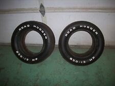 Vintage 1960's NOS B50 - 13 HP Road Hugger Belted Tires Pair Vega Pinto Toyota