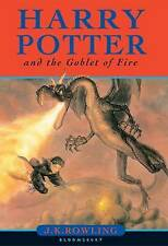 BOOK 4 HARRY POTTER AND THE GOBLET  OF FIRE  HARDBACK :20,19,18,17,16,15,14.