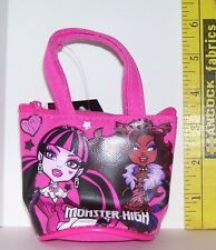 MINIATURE MONSTER HIGH OPENING PINK PURSE ACCESSORY FOR 18 INCH DOLLS NEW W TAGS