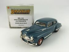 1/43 BROOKLIN 210 OLDSMOBILE 98 B-44 SEDANETTE 1942 TUNIS BLUE POLY
