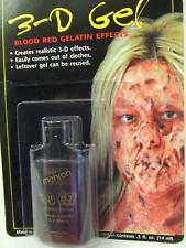 Mehron 3D Blood Gel ~ Halloween ~ Effects ~ Casualty Make-up ~ 14ml carded