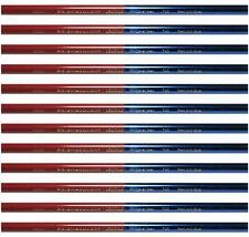 Prismacolor Verithin Colored Pencil - Double Ended RED & BLUE 748 (2456) - 12PC