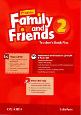 Oxford FAMILY AND FRIENDS 2 @2nd Edition@ Teacher's Book Plus with CD & DVD @New