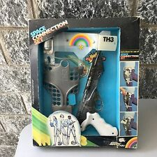 1979# Edison GiocattoliTH3 PLANET Space THUR LASER GUN FLASH PISTOL Set