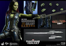 HOT TOYS GOTG GUARDIANS OF THE GALAXY GAMORA 1:6 FIGURE ~Sealed in Brown Box~