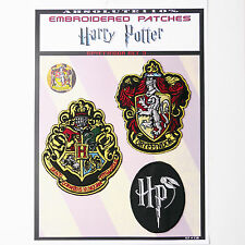 "HARRY POTTER ""GRYFFINDOR"" House Patches - Iron-On Patch Mega Set #50 - FREE POST"