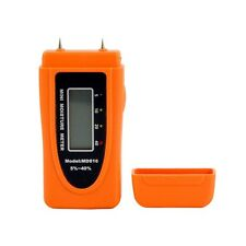 2-Pin Digital LCD Wood Moisture Meter Damp Wall Tester Detector
