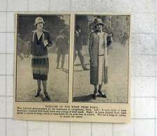 1925 Paris Fashions Of The Week, Tunic Frock, Pleated Frock