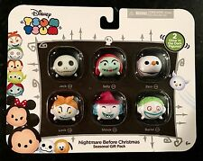 Tsum Tsum NIGHTMARE BEFORE CHRISTMAS Seasonal Gift Pack of 6 Vinyl Figurines