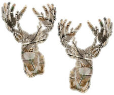 "Whitetail Deer Decal SET 3""x2.1"" Hunting Camo Hunter Vinyl Window Sticker ZU1"