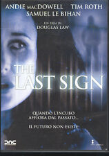 THE LAST SIGN - DVD (USATO EX RENTAL)