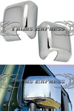 2007-2015 Jeep Wrangler (JK) Chrome Door Mirror Full Covers Pair