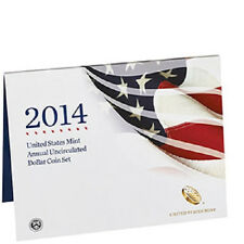 2014 United States Mint Annual Uncirculated Dollar 6-Coin Set with Silver Eagle
