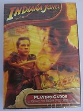 NEW Indiana Jones SEALED Playing Cards Kingdom of Crystal Skull  #309