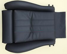BMW E30 leather sports seat cover black Convertible Touring 2/4-door M3 trim