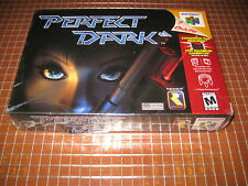 N64 PERFECT DARK USA NTSC NINTENDO 64 NEW SEALED