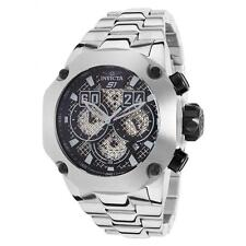 NEW Men's Invicta S1 Twisted Metal 19428 Chronograph Stainless Steel Watch 52mm