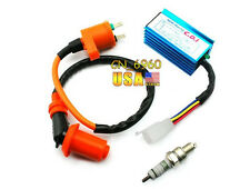 performance racing CDI + ignition coil For Honda XR50 CRF50 pit bike 110cc 125cc