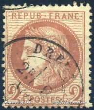 FRANCE CERES N°51 AVEC BELLE OBLITERATION