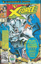 X-Force # 17 (with trading card, 'X-Cutioner's Song' part 8) (USA, 1992)