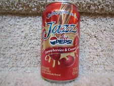 Pepsi Diet Cola Soda Pop Can limited edition opened Strawberries Cream Fruit fun