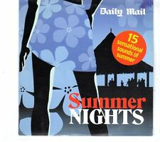 (GR730) Summer Nights, 15 tracks various artists - 2005 Daily Mail CD