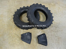 TWO New Deestone 6.00-14 Tractor Lug D402 Tires & Tubes 6 Ply