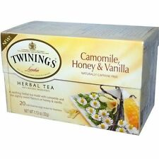 Twinings Of London Pure Camomile Honey & Vanilla Herbal Tea