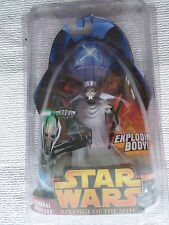 Star Wars 2005 Return of the Sith Hasbro Action Figure #36 General Grievous MOC