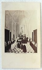 CDV PHOTO ALBUMINE LA TRAPPE DE STAOUELI ALGERIE RELIGION CATHOLIQUE E51