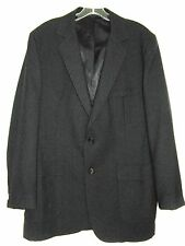 ACADEMY AWARD CLOTHES BLACK SPORTS JACKET TWO BUTTON SIZE 42L VINTAGE 1960's
