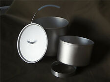 Anodized 12cm Dry Baking Combo for Alcohol Stoves Ultralight, Hiking