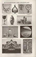 Lithografien 1905: KUNSTGEWERBE DER GEGENWART.
