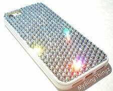 For iPhone 7 4.7 CLEAR Crystals Bling Hard Case Cover Bumper made with SWAROVSKI