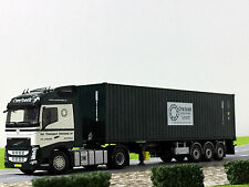 """WSI TRUCK MODELS,VOLVO FH4 GL,CONTAINER TRAILER+40FT CONT. """"OVERBEEK"""""""