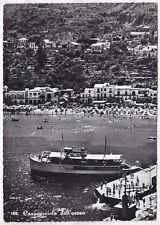 NAPOLI CASAMICCIOLA TERME 15 ISCHIA - TRAGHETTO Cartolina FOTOGR. VIAGGIATA 1955