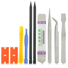 10 in 1 Mobile Repair Opening Tools Kit Set Pry Screwdriver For Cell Phone YK