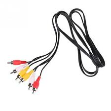 High quality 3 RCA to RCA Male to Male Cable DVD Cable Audio Video TV Cable 1.5M