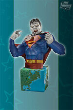 Heroes of the DC Universe Bizarro Bust Statue Superman Villian Gary Frank Direct