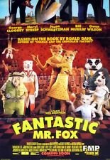 FANTASTIC MR. FOX - ANDERSON / CLOONEY / MURRAY - ADVANCE US POSTER