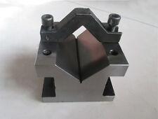 """Precision """"V"""" Blocks & Clamp Tool Gauge V-Blocks Set Workholding 60*60*50mm"""