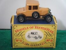 "Matchbox Yesteryear No: Y-8 ""1926 Morris Cowley Bullnose"" (Boxed)"