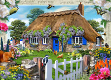 19094 RAVENSBURGER Country Cottage COLLECTION GLICINE 1000pz [ Puzzle ]