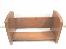 "Vintage Oak Book Rest/Stand 7""H 12""W 6""D"